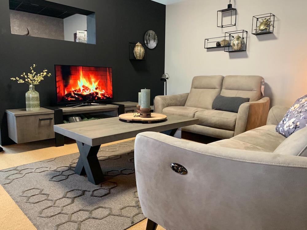 Meubel shop Emmen Style uw huis in herfstkleuren vloerkleed