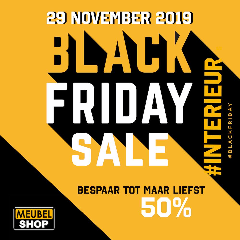 Black Friday actie Meubelshop Emmen