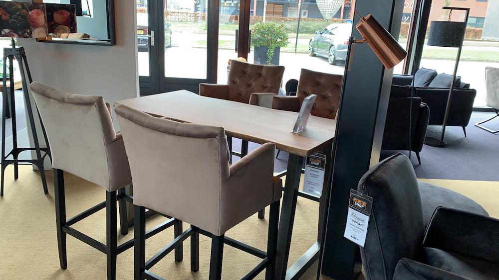 Meubelshop Emmen Kiest u voor de eetkamerstoel of de barstoel 9