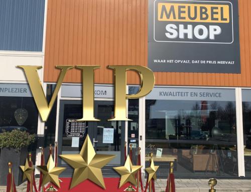 VIP-shoppen bij Meubelshop Emmen