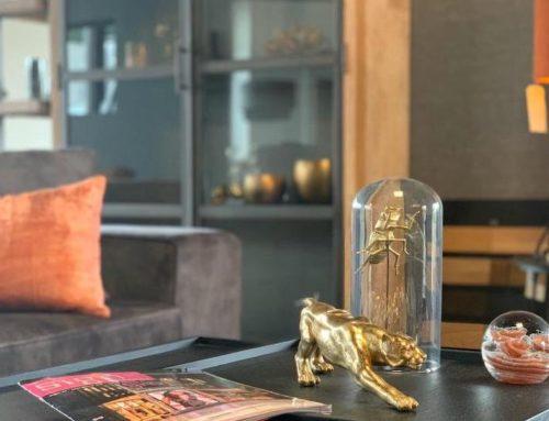 Gouden combinatie voor een warme Art Deco sfeer in huis