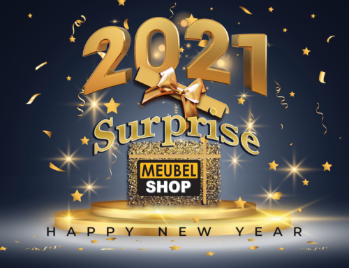 Meubelshop Nieuwjaar surprise actie