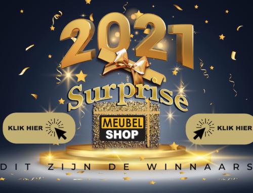 Meubelshop surprise 2021 actie, de winnaars zijn..